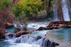Turquoise Pools    Havasu Falls