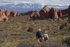 Hiking Arches    Arches NP
