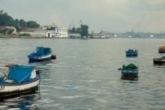 Boats in the Harbor    Havana, Cuba