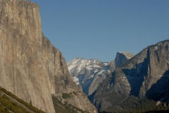 El Capitan and Half Dome    Yosemite NP