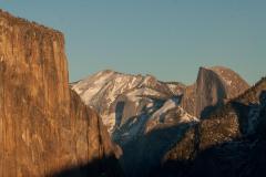 El Capitan and Half Dome || Yosemite NP