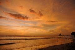 Playa Madera at Sunset    Nicaragua