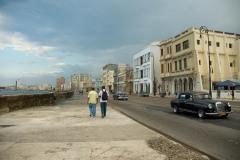 Walking the Malecón    Havana, Cuba