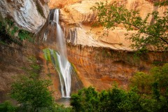 Morning at Lower Calf Creek Falls || Grand Staircase-Escalante NM