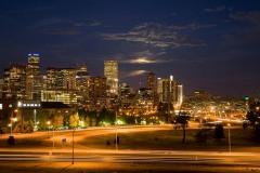 Night Falls on the Mile High City || Denver