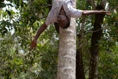 Break From Harvesting Coconuts || Zanzibar