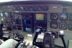 Cockpit of Cessna C208B Grand Caravan || Skies Over Africa