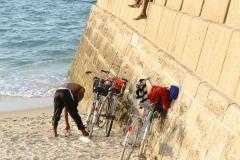 Hanging on the Sea Wall || Zanzibar