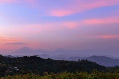 Sunrise over the Virungas || Uganda