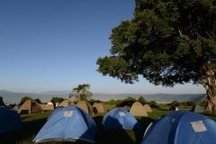 Tents along the Crater || Ngorongoro Crater, Tanzania