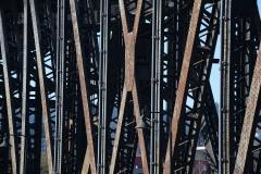 1912 Steel Bridge Detail || Portland