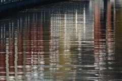 Reflections of Eastbank Esplanade || Portland