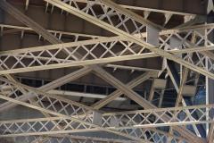 Steel Beams under Broadway Bridge || Portland