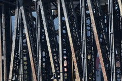 Steel Bridge Pedestrian Walkway || Portland, OR