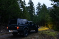 Toyota in Smith River National Recreation Area || California