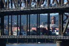 Union Station through Steel Bridge || Portland, OR