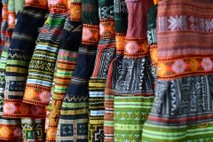 Colorful Hmong Garb || Sa Pa