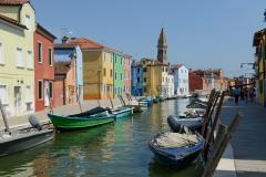 Colorful Canal in Murano    Venice