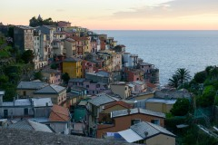 Manarola Vista at Sunset || Cinque Terre
