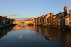 Ponte Vecchio at Sunset || Florence