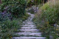 Stone Stairs in Manarola || Cinque Terre