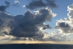 Morning Rays over the North Sea || Denmark