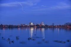 Sloan's Lake Skyline    Denver