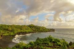 Black Sand Beach || Waiʻanapanapa, Hawaii