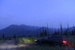 Camping in Beartooth Mountains    Montana