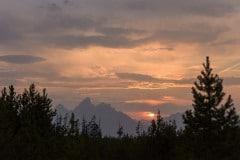 Teton Sunset    Grand Teton NP