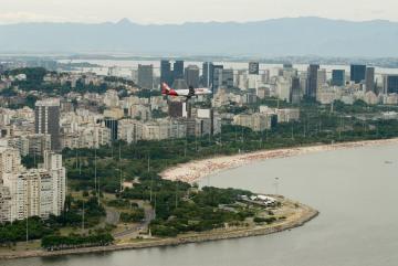 Flight Path through Rio || Rio de Janeiro, Brazil