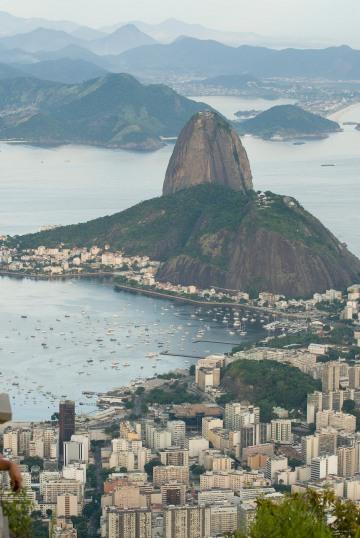 Sugarloaf Mountain and City || Rio de Janeiro, Brazil