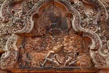 Banteay Srei at Angkor    Siem Reap, Cambodia