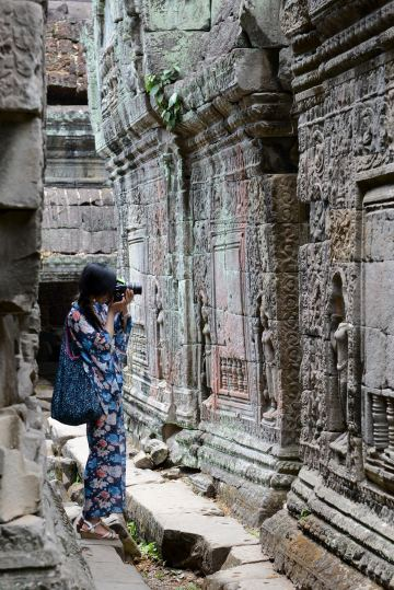 Preah Khan at Angkor    Siem Reap, Cambodia