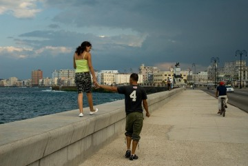 Along the Malecón || Havana, Cuba
