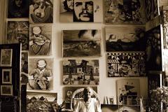 Art Vendor BW || Havana, Cuba