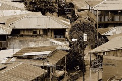 Village of El Castillo BW || Rio San Juan, Nicaragua