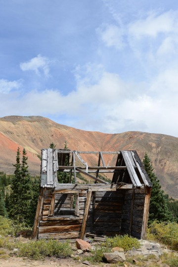 Abandoned Structure at Revenue Mountain || Guenella Pass, CO