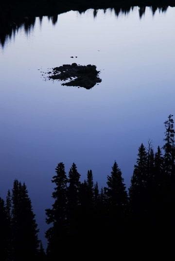 Blue Sunrise || Kroenke Lake, Colorado