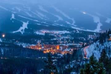 Breckenridge Winter Evening || Summit County, CO