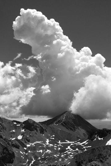 Clouds over Blanca Peak || Colorado