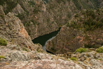 Curecanti Needle and Gunnison River    Colorado