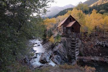 Cystal Mill in Fall || Colorado