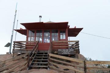 Devils Head Fire Lookout Tower    Colorado