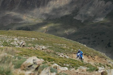 Dirt Biker on Radical Hill || Colorado