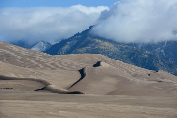 Dune Shadows in Fall || Great Sand Dunes NP, CO