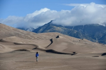 Evening Hike || Great Sand Dunes NP, CO