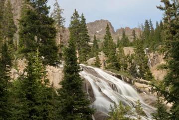 Falls along Needle Creek || Chicago Basin, CO