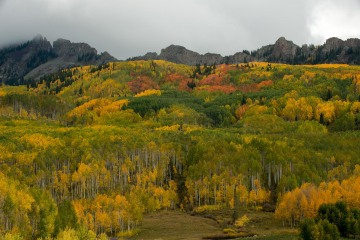 Grand Dike of the Ruby Range in Fall || Elk Mountains, CO