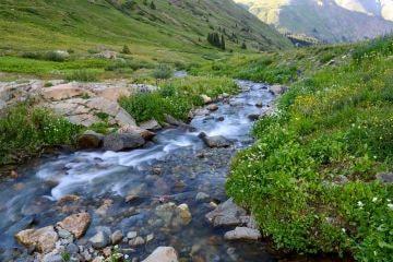 Lake Fork in American Basin || Colorado
